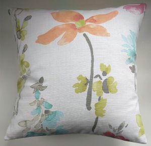 "Cushion Cover in Next Painterley Floral 16"" Matches Curtains"